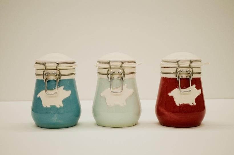20- Lard Jars