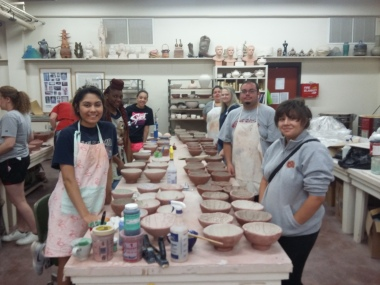 Midwestern State University: Ceramics For non Art Majors Fall 2017